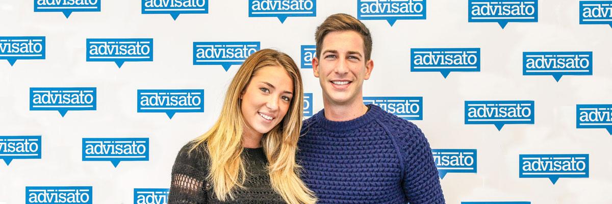 Alice Campello e Alberto Franceschi per il Natale advisato