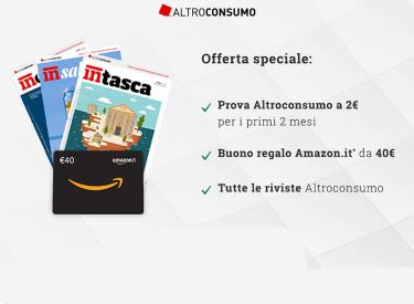 Buono Amazon da 40€ + Prova a 2€ per 2 Mesi