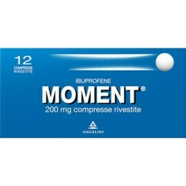Angelini - Moment 200 mg Ibuprofene 12 compresse rivestite
