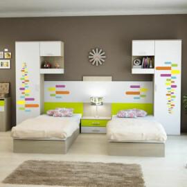 - Camera doppia con letti contenitori