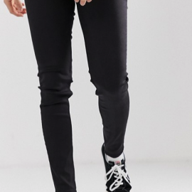 Cheap Monday - Him Spray Sustainable - Jeans super skinny neri