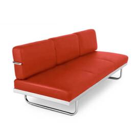 Le Corbusier - Divano Letto LC5 3 posti in pelle
