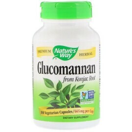 Nature's Way - RADICE DI KONJAC GLUCOMANNANO 665 MG, 100 VCAPS