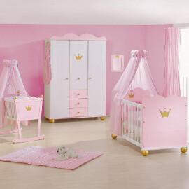 Pinolino - Lettino, armadio e cassettiera