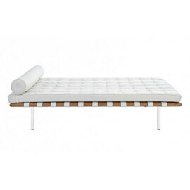 Stile Mies Van Der Rohe - Daybed Barcelona in pelle Premium